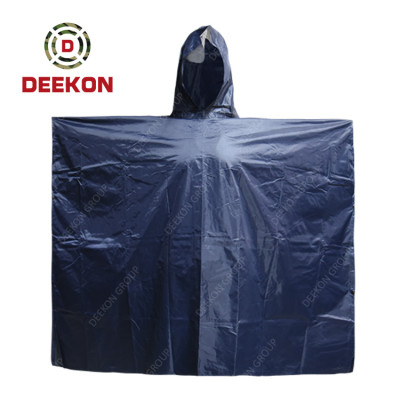 Deekon Poncho supply Outdoor Military Breathable Tactical Poncho with Reflective tape for Senegal