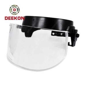 NIJ Standard Bulletproof Visor Applicable to PASGT Helmet