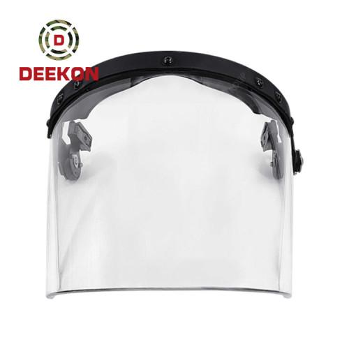 NIJ Standard Anti Riot Visor Applicable to Anti Riot Helmet Bulletproof Helmet