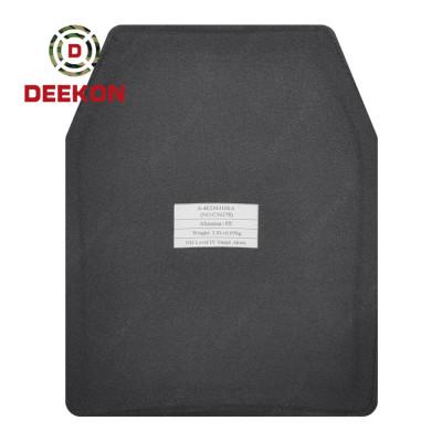 China Factory Manufacture NIJ IV Stand Alone Ballistic Plate Bulletproof  Aluminum Ceramic Plate