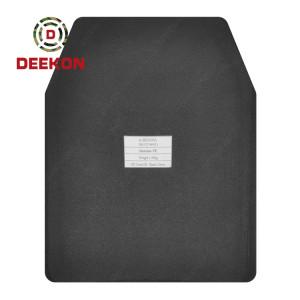 Deekon NIJ III Stand Alone Ballistic Plate Bulletproof Aluminum Ceramic Plate from Chinese Factory