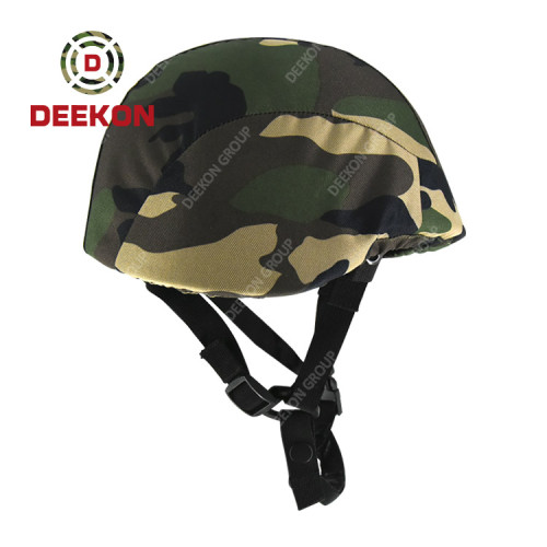 Factory Manufacture Tactical PASGT Military Bulletproof Helmet With Camouflage Pattern Cover