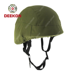 Factory Manufacture Tactical PASGT Military Bulletproof Helmet With Green Cover