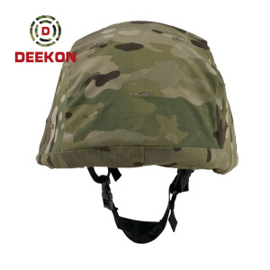 Factory Manufacture Tactical PASGT Military Bulletproof Helmet With Multicam Pattern Cover