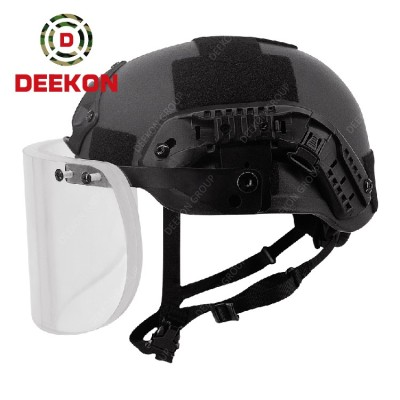 China Factory Made Bulletproof helmet MICH tactical ballistic helmet NIJ IIIA standard