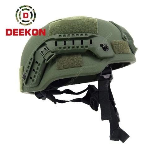 Deekon Supply Olive Green MICH Bulletproof Helmet Mid Cut With Best Quality