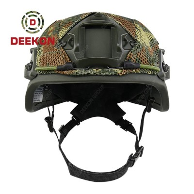 Albania Level 3A Tactical Bulletproof Helmet Military MICH Ballistic Helmet With Camouflage Cover
