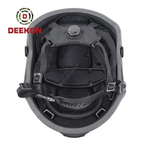 China Factory Made Black Color MICH High Cut Helmet Resist 9mm And .44 Mag