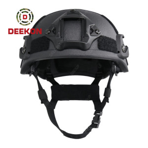 MICH 2000 Bulletproof Helmet NIJ IIIA Army Ballistic Helmet Black Bullet Proof Helmet