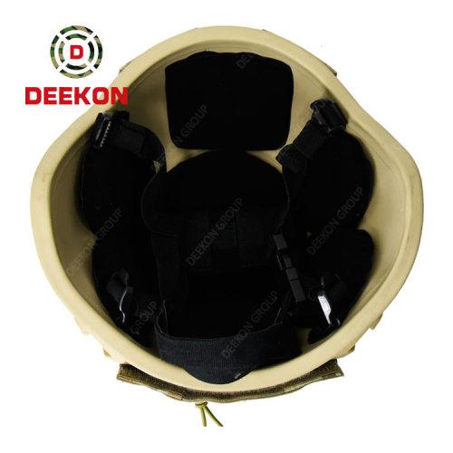 China Deekon Supply MICH Bulletproof Helmet With Helmet Cloth Camo Net
