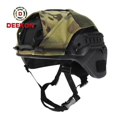 China Deekon Comapny Manufacture MICH Ballictic Helmet With Camouflage Cover