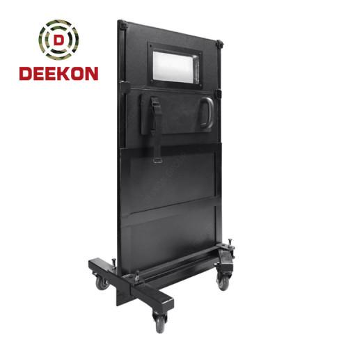 Deekon Company Supply  NIJ IV Bulletproof Shield Ballistic Shield with 4 wheels