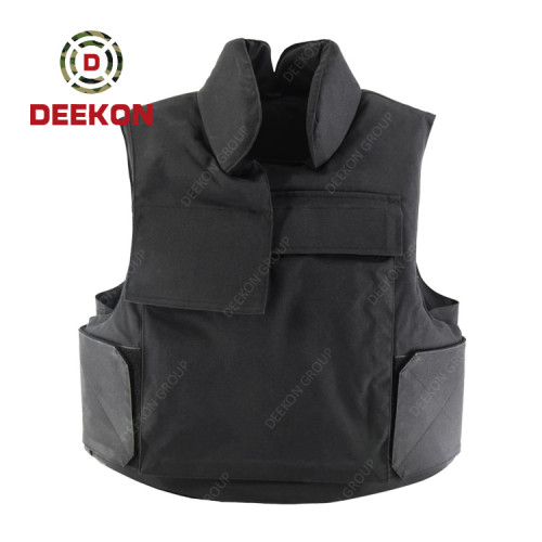 Manufacturer Bulletproof Jacket  Black Ballistic Vest Level IIIA for Lebanon