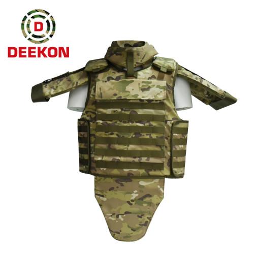 Supplier Bulletproof Vest  Kevlar NIJ IIIA Protection Full Body Armour