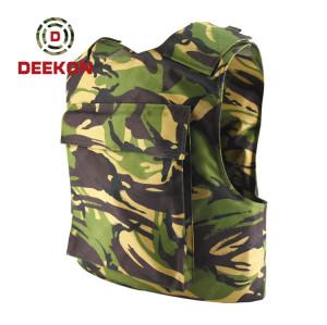 Supplier Bulletproof Vest Protective Combat Vest Woodland Camouflage for Tanzania