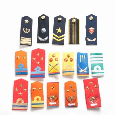 Chinese Factory Supply for Army Solidre Officer Shoulder Epaulet for Military Soliders
