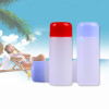 Sanle 30ml PE cylinder travel set bottle with screw cap