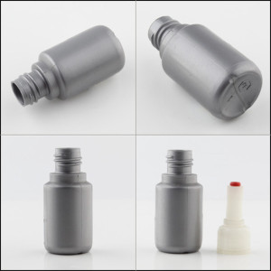 Sanle 25ml PE round eye dropper bottle with dropper cap