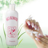 Sanle wholesale 2oz boston round HDPE plastic bottle with 18/410 neck finish, custom logo acceptable