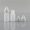 Sanle 5ml PE oval eye dropper bottle with dropper cap