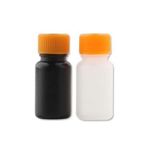 Sanle 5ml LDPE cylinder round mini sample bottle with screw cap