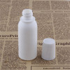 Sanle 70ml PE cosmo round medicine bottle with special screw cap