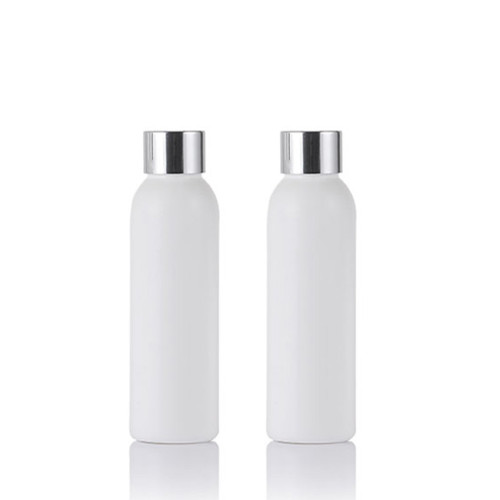 Sanle 100ml PE cosmo round cosmetic bottle with sprayer