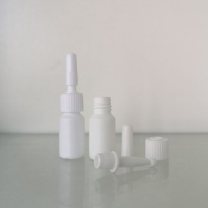 Sanle 5ml HDPE cylinder eyelash bottle with with brush plugs