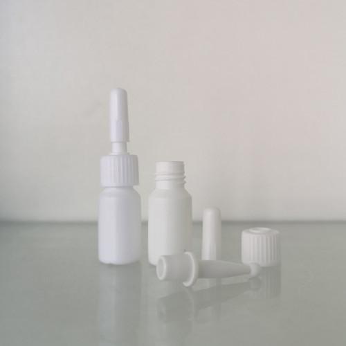 Sanle 5ml HDPE cylinder eyelash bottle with with brush plugs