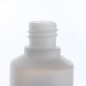 Sanle 30ml PE cylinder 1 oz dropper bottle with long tip cap