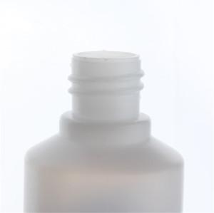 Sanle 30ml PE cylinder 1 oz dropper bottle with long tip cap