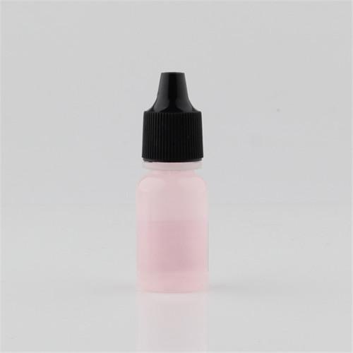 Sanle 7.5ml boston round printed dropper bottle with screw cap