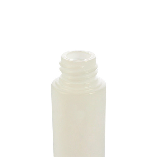Sanle 35ml PE cylinder shampoo bottle with screw cap