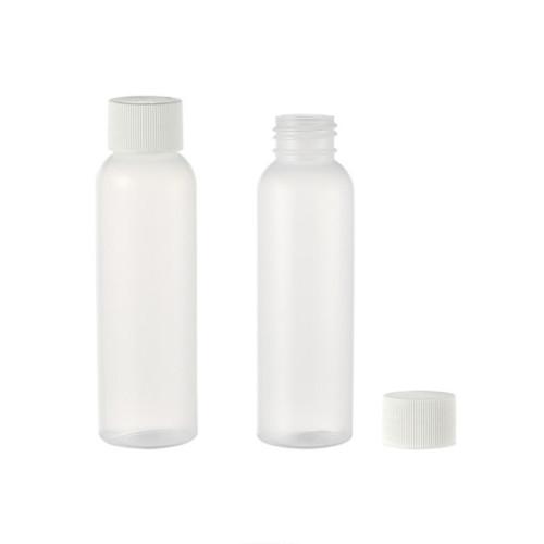 Sanle 125ml HDPE cosmo round plastic fine mist spray bottle