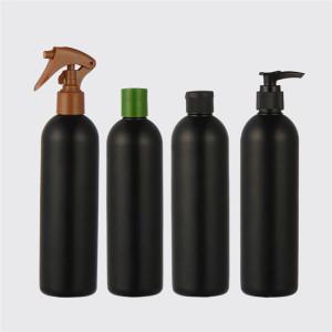 Sanle 375ml LDPE Vinegar Dispensing Plastic Squeeze Bottle with dropper tip cap