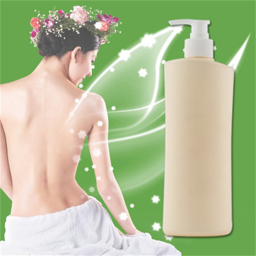 500ml HDPE square plastic bottle with lotion pump
