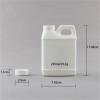 250ml white F-style hdpe plastic bottle/jugs