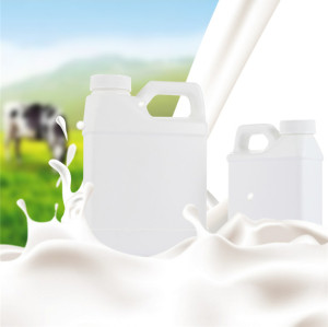 500ml white F-style hdpe plastic bottle/jugs