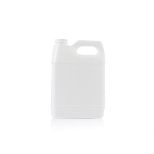 1000ml white F-style hdpe plastic bottle/jugs