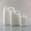 1000ml white F-style hdpe plastic bottle/jugs