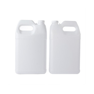 one gallon white F-style hdpe plastic bottle/jugs