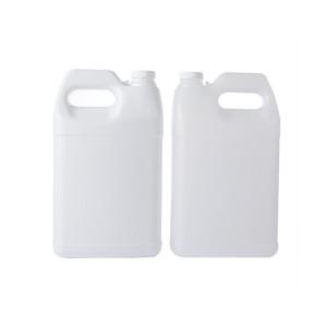 one gallon white F-style hdpe plastic bottle/jugs
