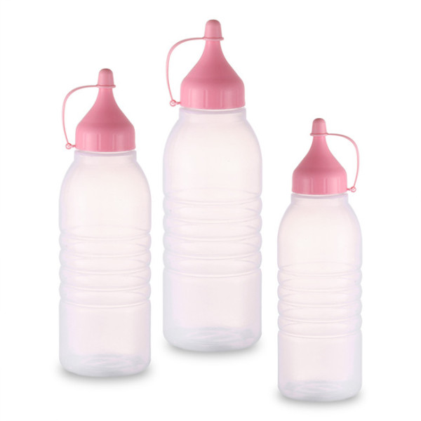 Sanle 500ml LDPE Sauce Squeeze Bottle with ketchup line cap