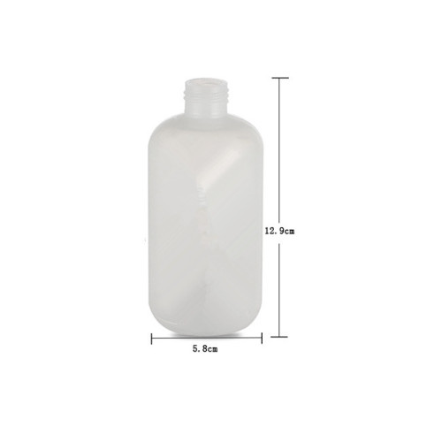 Sanle 480ml LDPE Boston Round Plastic Squeeze Bottle with York Spout Cap