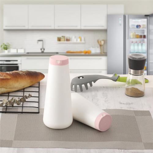 750g HDPE salt shaker table salt bottle
