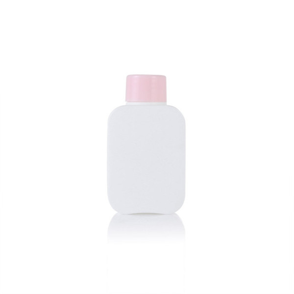 100ml HDPE oblong plastic bottle with lotion pump
