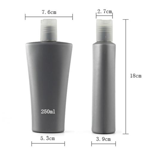 Sanle 250ml HDPE Hair Care Liquid Bottle with Disc Cap