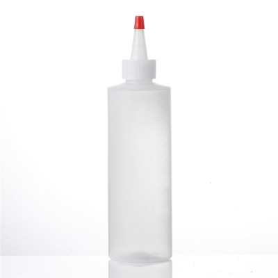 Sanle 200ml cylinder round HDPE plastic bottle with mist sprayer, lotion pump