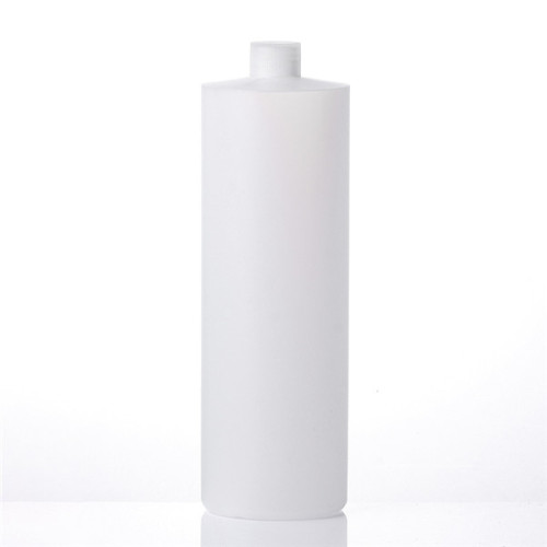 Sanle 1000ml cylinder round HDPE bottle with pump sprayers