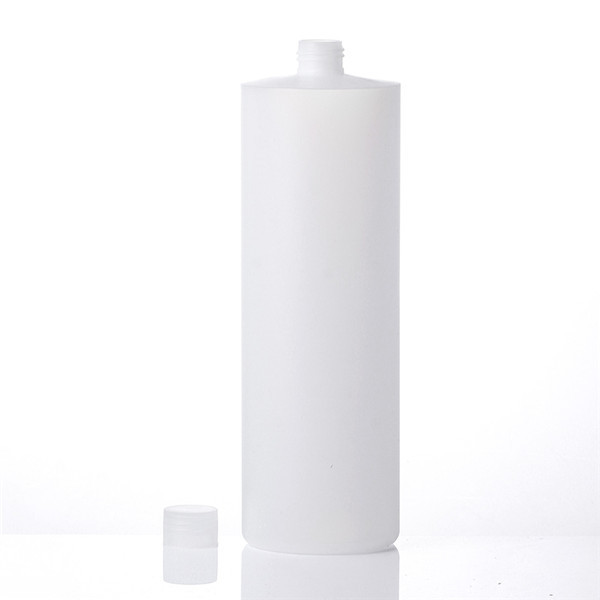 Sanle 1000ml cylinder round HDPE bottle with pump sprayers